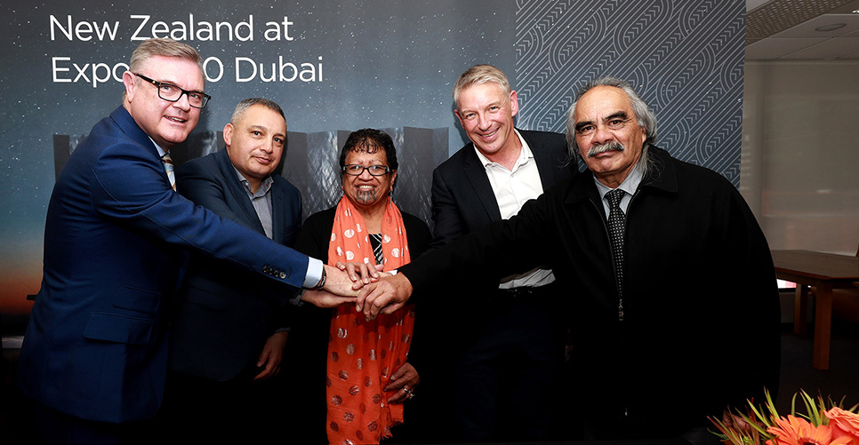 NZTE and Whanganui Iwi partner for Expo 2020 Dubai